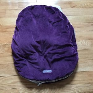 Car seat cover for carrier seat